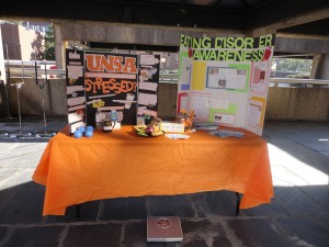 UNSA Booth for Vol Aware